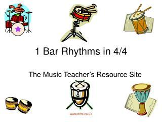 1 Bar Rhythms in 4