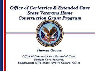 Office of Geriatrics  Extended Care