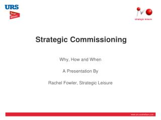 Strategic Commissioning
