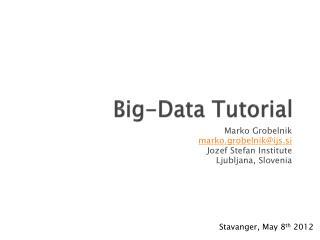 Big-Data Tutorial