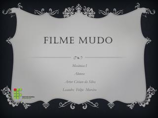 Filme mudo