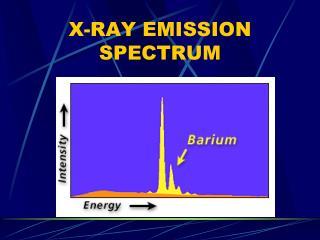 X-RAY EMISSION SPECTRUM