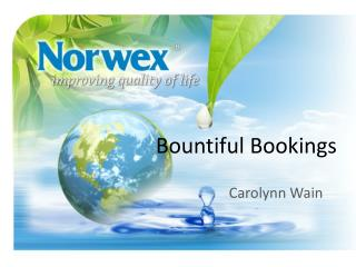 Bountiful Bookings