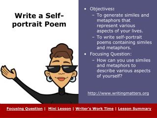 Write a Self-portrait Poem