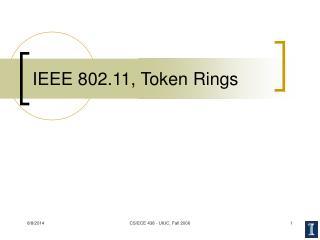 IEEE 802.11, Token Rings