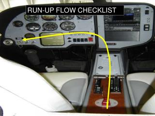 RUN-UP FLOW CHECKLIST