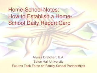 Home-School Notes: How to Establish a Home-School Daily Report Card