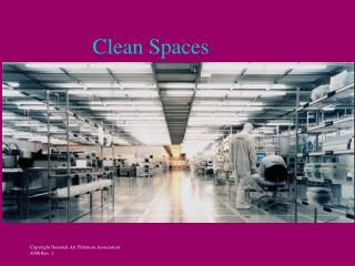 Clean Spaces
