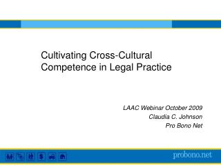Cultivating Cross-Cultural Competence in Legal Practice