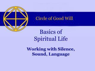 Basics of Spiritual Life