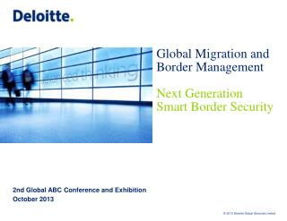 2nd Global ABC Conference and Exhibition October 2013