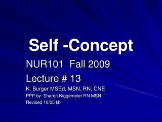 Self -Concept