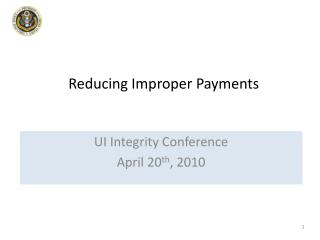 Reducing Improper Payments