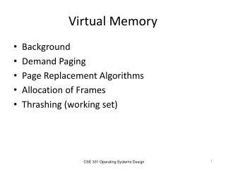 Virtual Memory