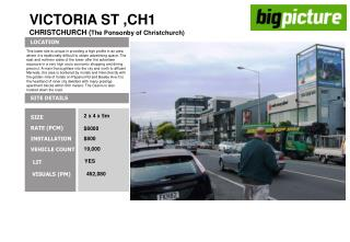 VICTORIA ST ,CH1 CHRISTCHURCH ( The Ponsonby of Christchurch)