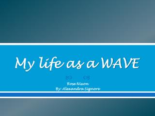 My life as a WAVE