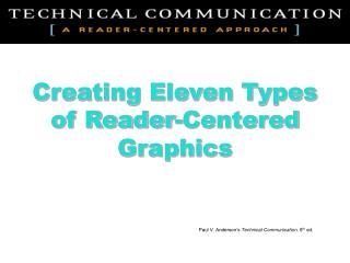 Creating Eleven Types of Reader-Centered Graphics