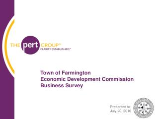 Town of Farmington  Economic Development Commission Business Survey