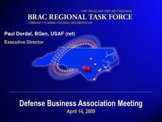 Paul Dordal, BGen, USAF (ret) Executive Director