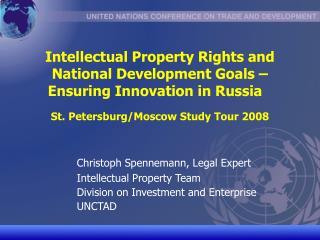 Christoph Spennemann, Legal Expert  Intellectual Property Team
