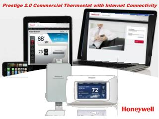 Prestige 2.0 Commercial Thermostat with Internet Connectivity