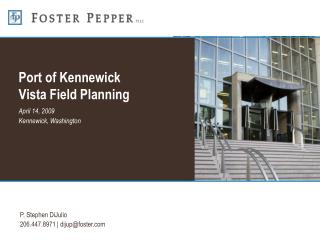Port of Kennewick Vista Field Planning
