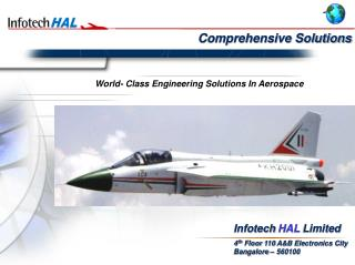World- Class Engineering Solutions In Aerospace
