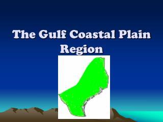 The Gulf Coastal Plain  Region