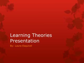 Learning Theories Presentation