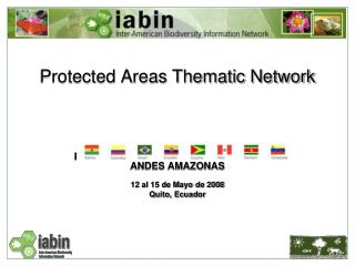 Protected Areas Thematic Network