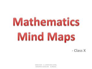 Mathematics Mind Maps
