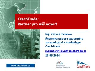 CzechTrade:  Partner pro Váš export