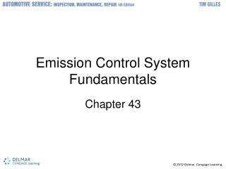 Emission Control System Fundamentals