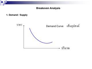 Breakeven Analysis