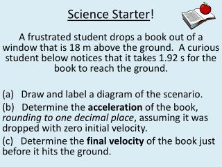 Science Starter !