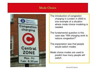 Mode Choice