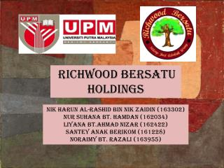 Richwood  bersatu  holdings