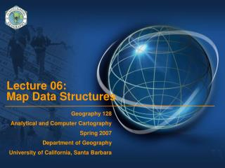 Lecture 06:  Map Data Structures