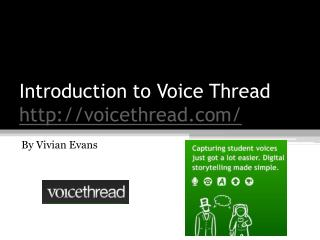 Introduction to Voice Thread voicethread/