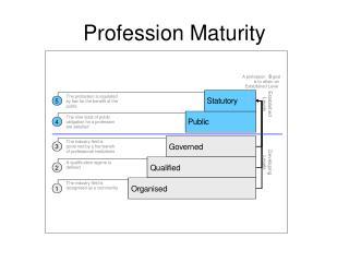 Profession Maturity