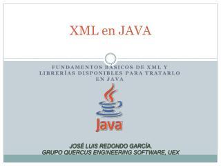 XML en JAVA