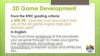 2D Game Development