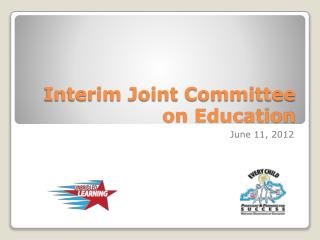 Interim Joint Committee on Education