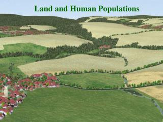 Land and Human Populations