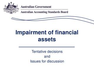 Impairment of financial assets