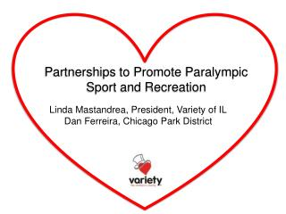 Partnerships to Promote Paralympic Sport and Recreation