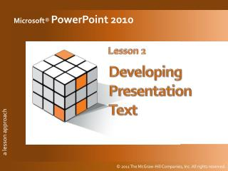 Begin with  one of these: Blank presentation