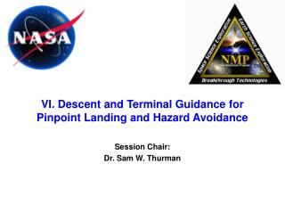 VI. Descent and Terminal Guidance for Pinpoint Landing and Hazard Avoidance