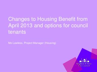 HB Changes from April 2013