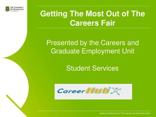 Getting The Most Out of The Careers Fair